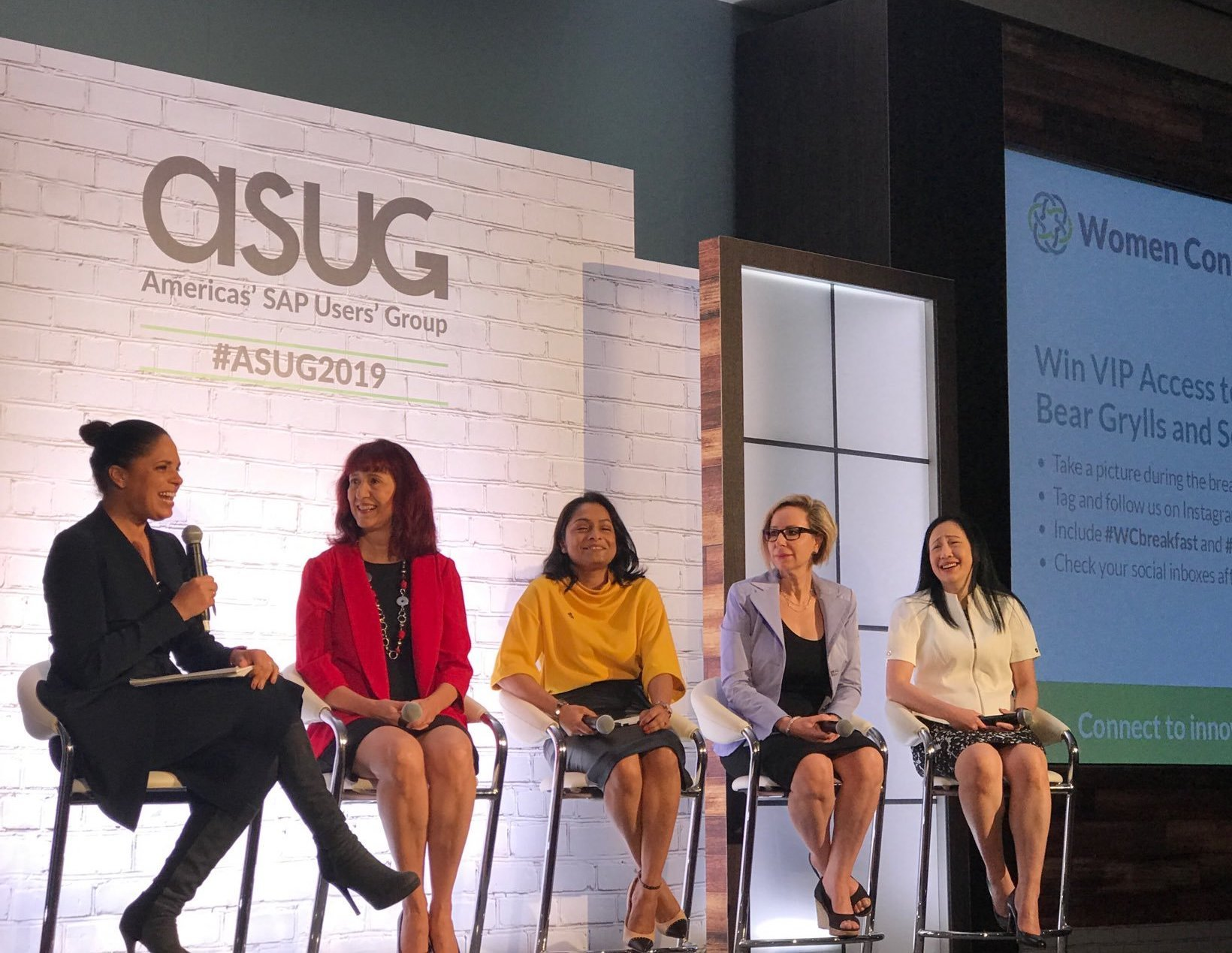 ASUG Women Connect Breakfast Panel