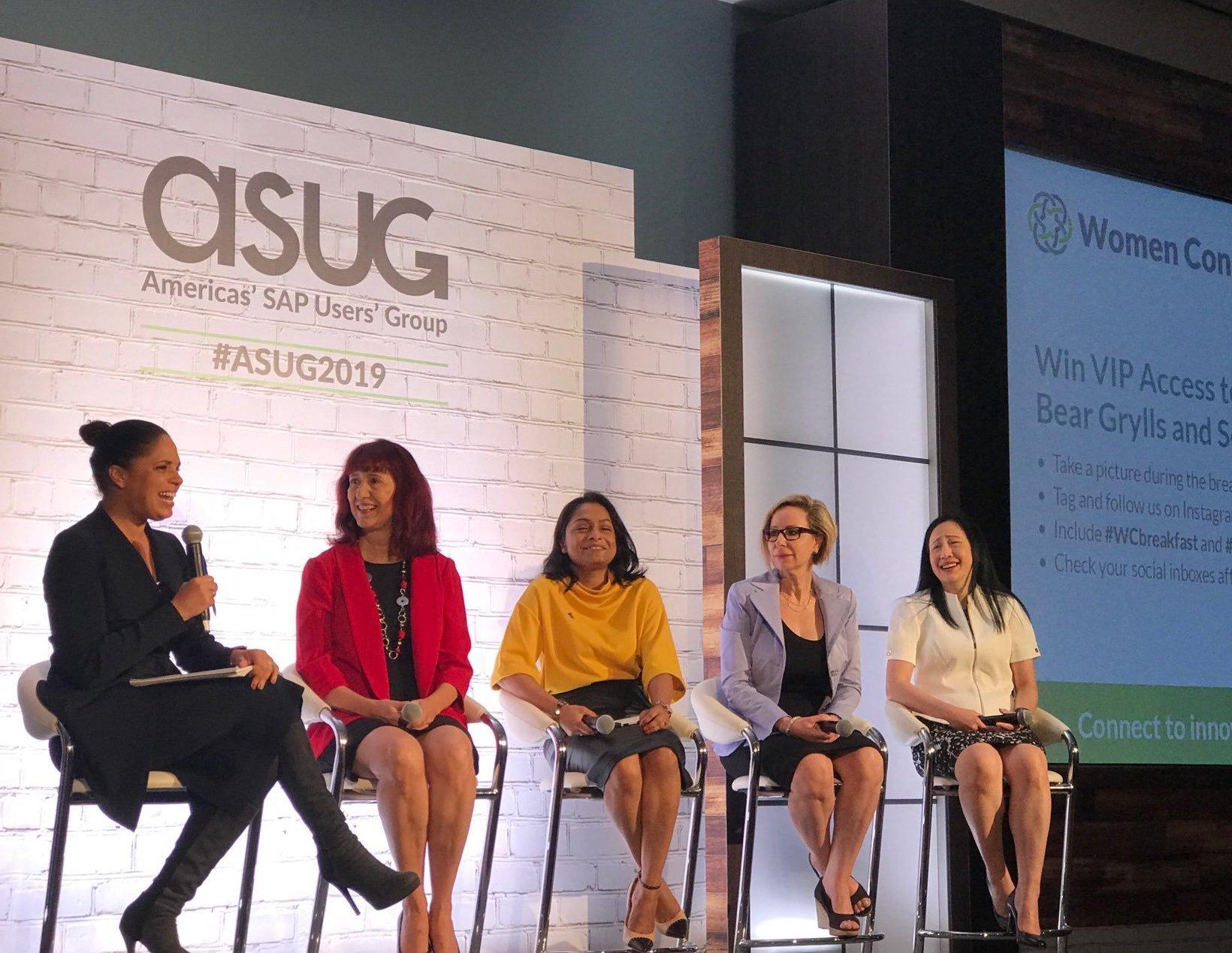ASUG Women Connect Breakfast Panel