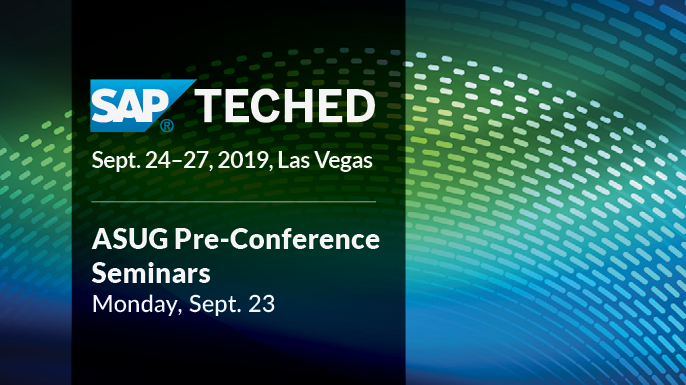 SAP TechEd Pre-Conference Seminars